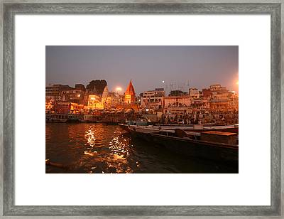 Varanasi Framed Print by Andrei Fried