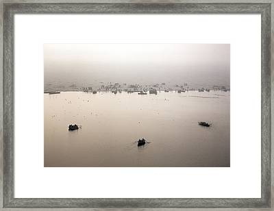 Varanasi - India Framed Print by Joana Kruse