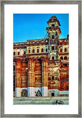 Varanasi Framed Print by Steve Harrington