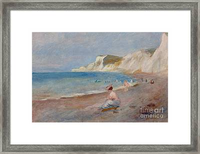 Varengeville Beach Framed Print