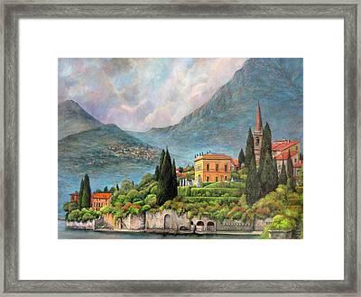 Varenna Italy Framed Print