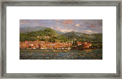 Varenna Italy Framed Print by R W Goetting