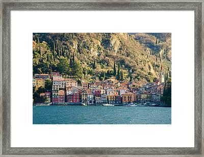 Varenna Village Framed Print
