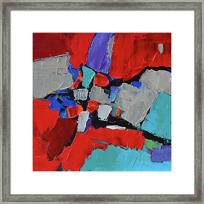 Variation Framed Print by Elise Palmigiani
