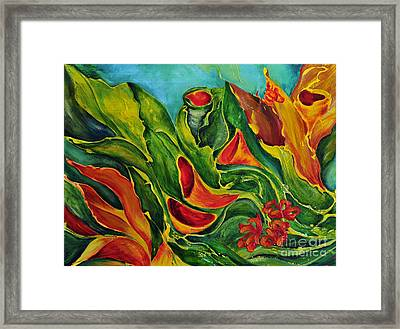 Variation Framed Print by Teresa Wegrzyn