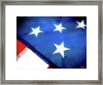 Variations On Old Glory No.6 Framed Print