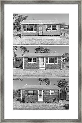 Framed Print featuring the photograph Various States Of Readiness by Edward Fielding