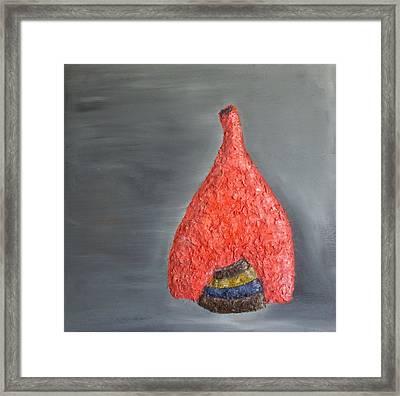 Vase N Bowls Framed Print