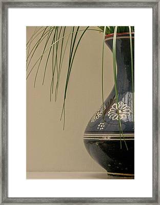Vase Framed Print by Odd Jeppesen