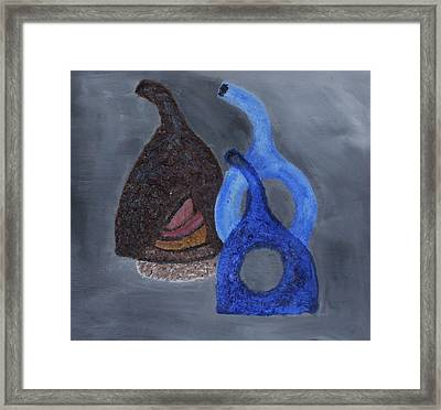 Vases And Bowls Framed Print