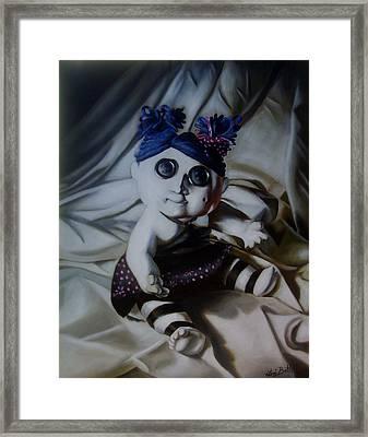 Vashler Baby Doll Framed Print