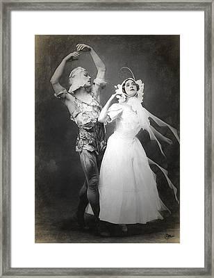 Vaslav Nijinsky Ballet Framed Print by Joaquin Abella
