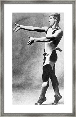 Vaslav Nijinsky, Russian Dancer Framed Print by Everett