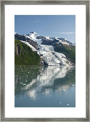 Vasser Glacier Framed Print by Gloria & Richard Maschmeyer