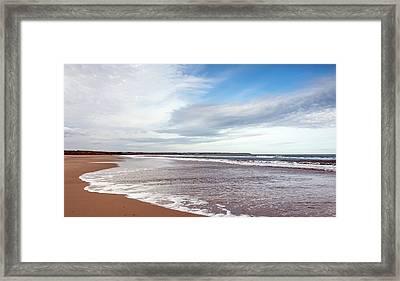 Vast Beach Framed Print by Svetlana Sewell