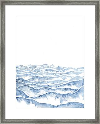 Vast Framed Print by Emily Magone