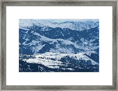 Vast Landscape Framed Print by Svetlana Sewell