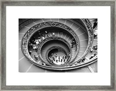 Vatican Bw Framed Print