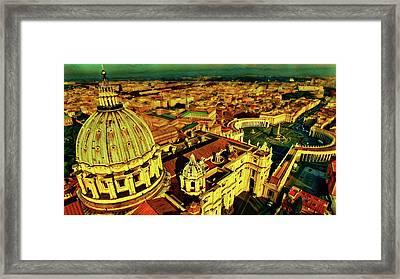 Vatican City Rome Italy Framed Print