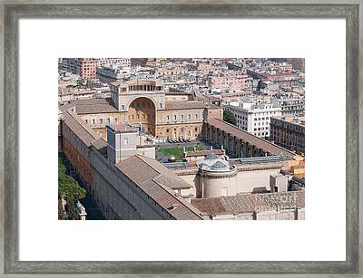 Vatican Museums Framed Print