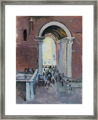 Vatican Framed Print by Robert Bissett