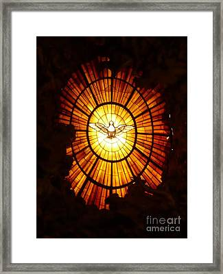 Vatican Window Framed Print