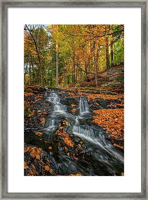Vaughan Brook In Autumn Framed Print by Rick Berk