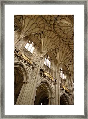 Vaulted Ceiling Framed Print by Michael Hudson