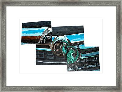 Vauxhall 3 Piece Grill Framed Print