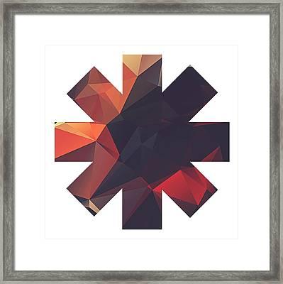 Vector Framed Print by Rhcp