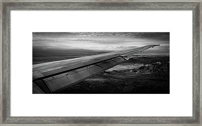 Vectors To Final Kabq Framed Print by Michael Osborne