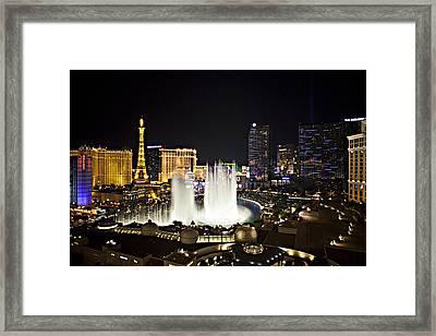 Vegas Baby Framed Print by Jonas Wingfield
