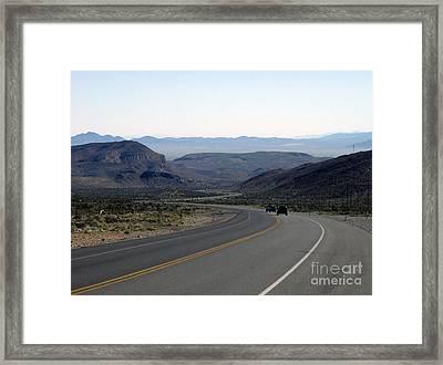 Vegas Bound Framed Print by Kelvin Booker