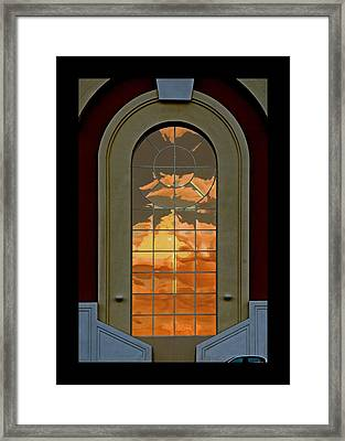 Vegas Sunset Framed Print by James Zuffoletto