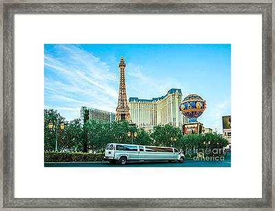 Vegas Vip Framed Print by Az Jackson