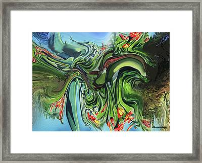 Vegetable Framed Print