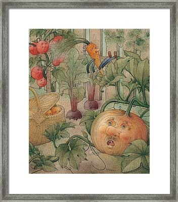 Vegetables Framed Print by Kestutis Kasparavicius
