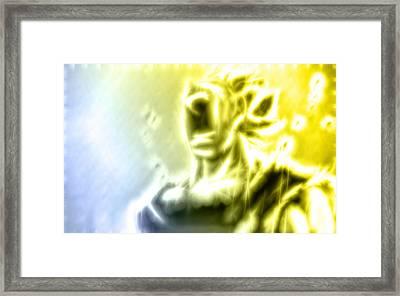 Vegeta's Sacrifice Framed Print by Dhouib Skander