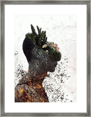 Vegetation, Alternative Framed Print