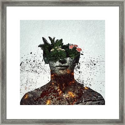 Vegetation Framed Print