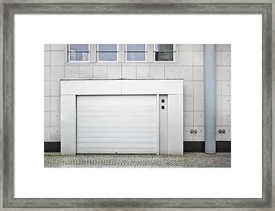 Vehicle Entry Door Framed Print by Tom Gowanlock