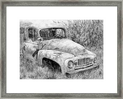 Vehicle Study No 1 Framed Print by David King