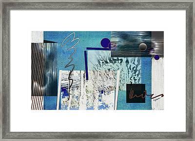 Veiled Illusion Framed Print by Linda Dunn