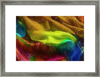Veiled Mask Framed Print