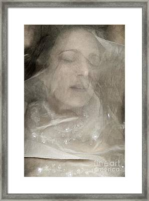 Veiled Princess Framed Print