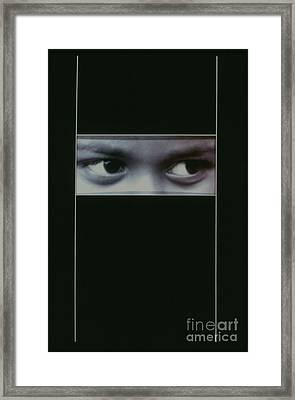 Veiled Print Framed Print