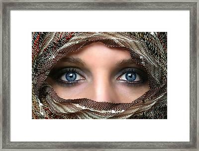Veiling Framed Print by Gary Yost