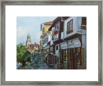 Veliko Tarnovo- Nativity Of The Mother Of God Cathedral Framed Print by Henrieta Maneva