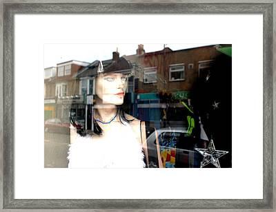 Velma Out Framed Print by Jez C Self