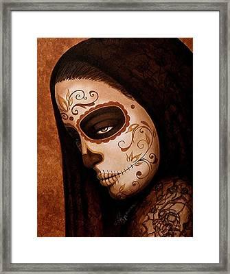 Velo De La Tristeza Framed Print